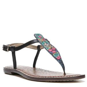 Sam Edelman // Embroidered Gigi Sandals Size 6